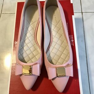 Cole Haan pink flats size 7